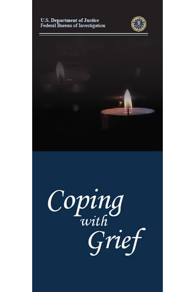 Cover of the pamphlet, Coping with Grief